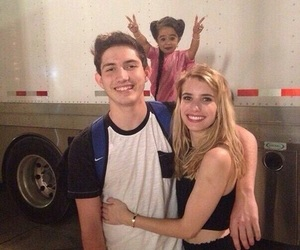 american horror story, emma roberts, and freak show image