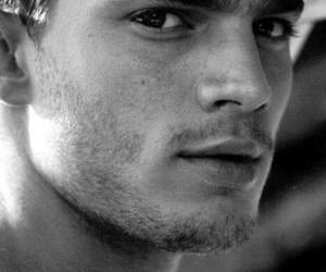 Jamie Dornan, grey, and Hot image
