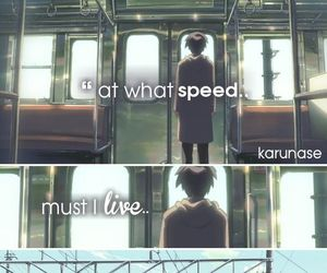 anime and 5 centimeters per second image