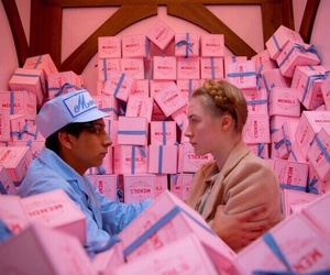 wes anderson and grand budapest hotel image