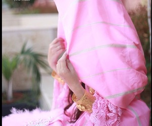 outfit, البودري, and الزي الليبي image