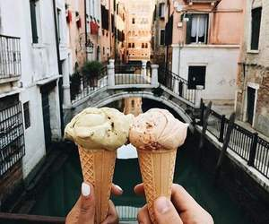 ice cream, food, and travel image
