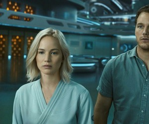 film, passengers, and jim preston image
