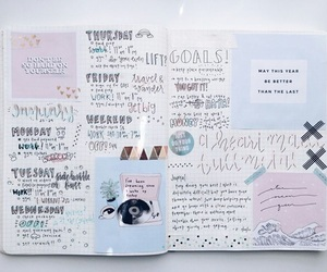 bullet, journal, and tumblr image