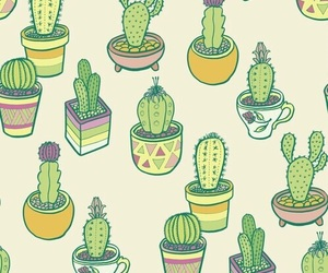 cactus, background, and patterns image