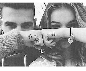 king, Queen, and tatto image