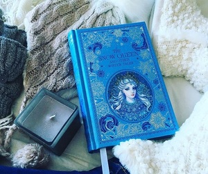 bibliophile, ice queen, and blue image