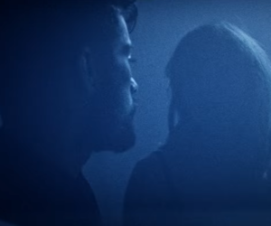 blue, glow, and music video image