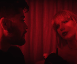 Taylor Swift, red, and zayn image