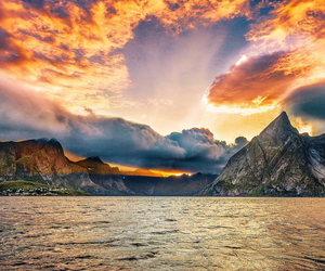 landscape, nature, and ocean image