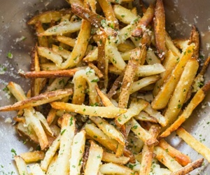 food, French Fries, and parmesan image
