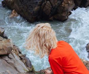 blond hair, blonde, and grunge image
