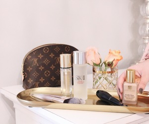 bags, makeup, and cute image