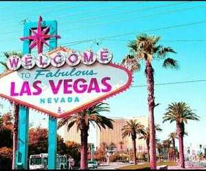Las Vegas, paradise, and welcome image