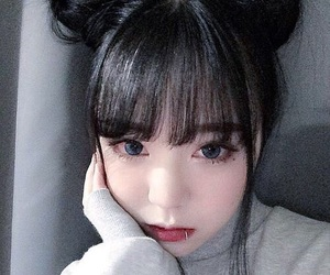 asian, beautiful, and icons image
