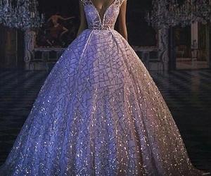dress, girl, and love image