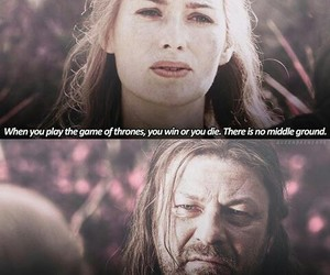 got, game of thrones, and ned stark image