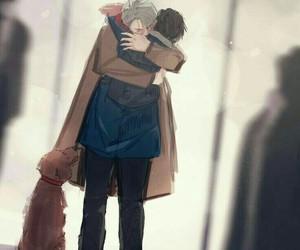 anime, love, and victuuri image