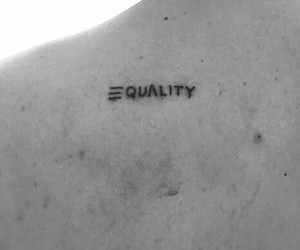 equality, ink, and tat image