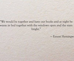 quotes, book, and ernest hemingway image