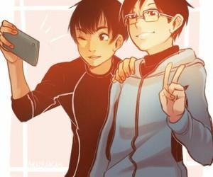 anime, yuri, and yuri on ice image