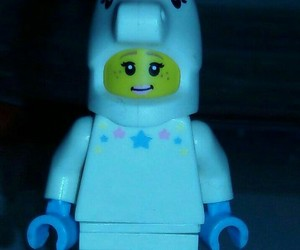lego, cute, and unicorn image