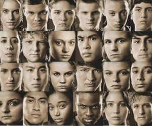 the hunger games, tributes, and Clove image