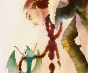 art, how to train your dragon, and valka image