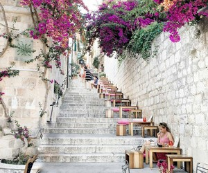 flowers, travel, and Croatia image