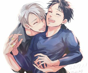 anime, yuri on ice, and yuri image