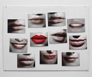 lips, smile, and mouth image