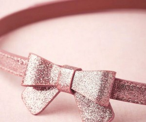 bow, fashion, and rose gold image
