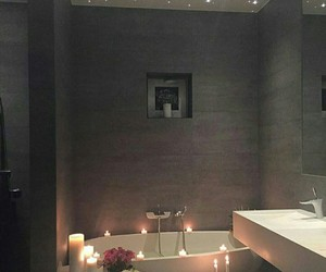 luxury, home, and bathroom image