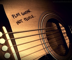 guitar, music, and play image