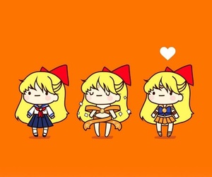 sailor moon, wallpaper, and sailor venus image