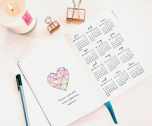 agenda, calendar, and organizacion image