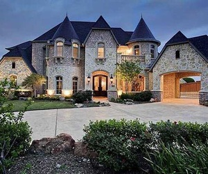 Dream, mansion, and home image