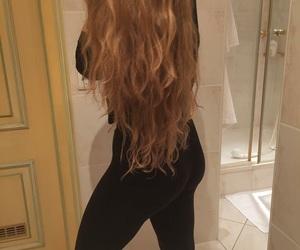 hair, lange haare, and health image