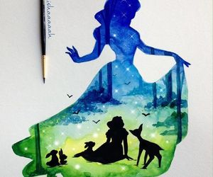 disney, snow white, and art image