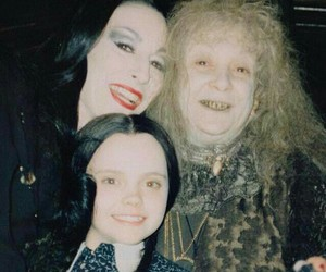 addams family, wednesday, and morticia image