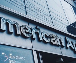 blue, american apparel, and aesthetic image