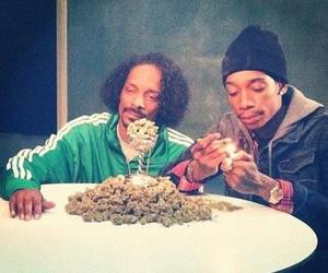 weed, snoop dogg, and wiz khalifa image