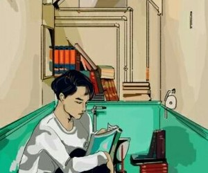 exo, kai, and wallpaper image