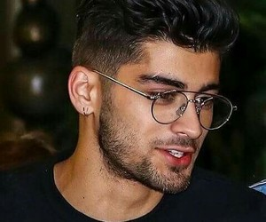 zayn, zayn malik, and glasses image