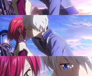anime, kawaii, and red hair image