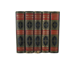 charles dickens, distressed, and home decor image