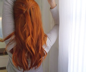 curls, ginger, and girl image
