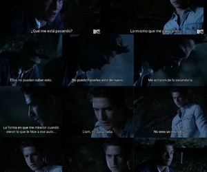 scott, liam, and teen wolf image