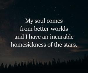 soul, stars, and world image