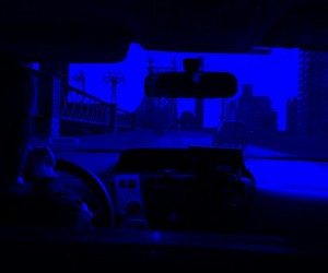 blue, neon, and neonblue image